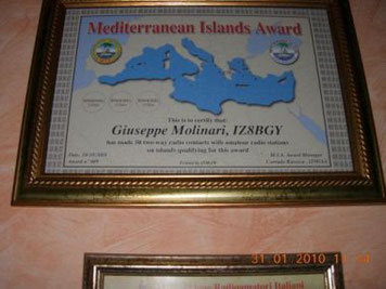 Mediterranean Island Award