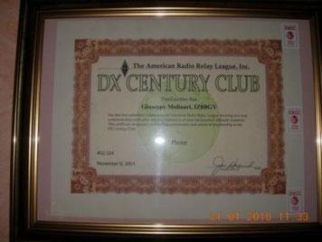 Il più ambito DXCC