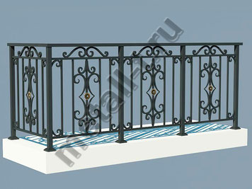 Ограждение для балконов и террас