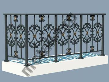 Ограждения балкона и террасы