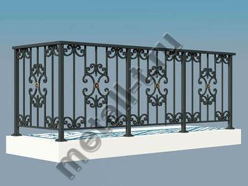 Ограждение для балкона и террасы
