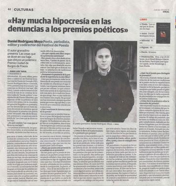 Entrevista diario Ideal (4 de abril de 2013)