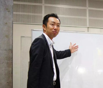 株式会社チャレンジボックス 代表 沢辺雄一さん