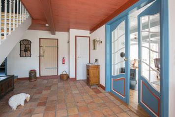 Der Eingangsbereich liegt in Friesenhäusern traditionell in der Diele.