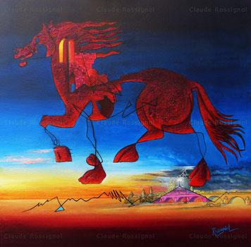 Cheval ligérien - Claude Rossignol