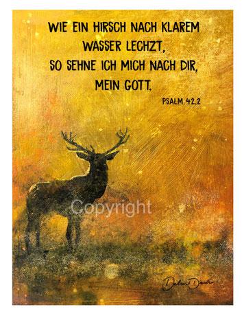 Psalm 42,2 Hirsch