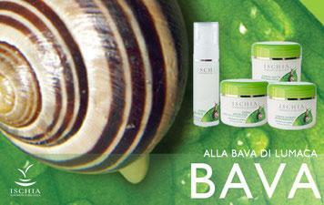 cosmetici  biologici e termali alla bava di lumaca ischia, crema bava delle lumache