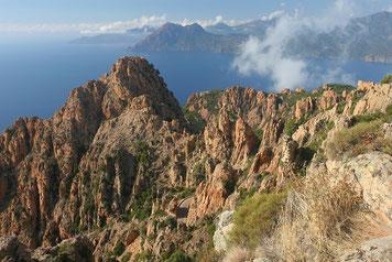 Küste auf Korsika