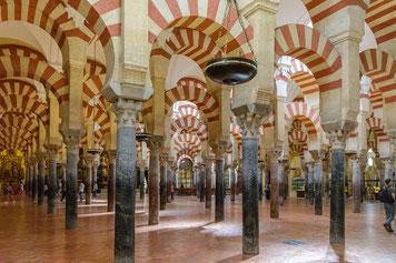 Mezquita in Córdoba von innen