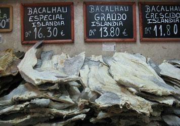 Bacalhau - getrockneter Fisch