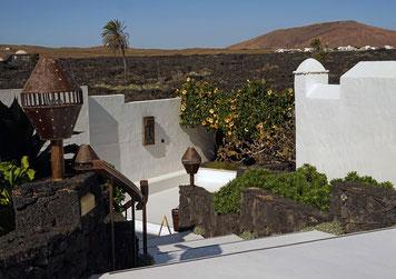 Wohnhaus von César Manrique auf Lanzarote
