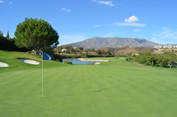 Golfplatz in Andalusien