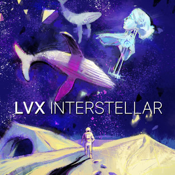 Cover Interstellar EP by LVX