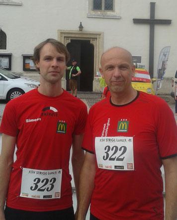 Manuel u. Wolfgang in Lunz