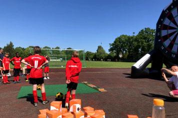 Fußball Event Attraktion Schleswig Holstein