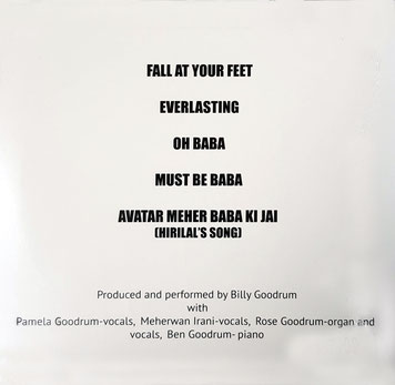 """Jai Baba""  - back cover"
