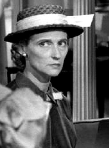 "Joan Croydon ( Vivienne Giesen ) in the role of Miss Fern in the 1956 film  ""The Bad Seed"""