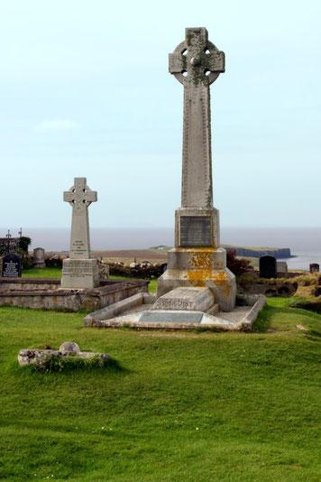 Flora MacDonald`s Grabmal auf der Isle of Skye