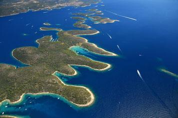 Paklinski - Segel- und Seefahrtschule Kroatien - White Wake sailing