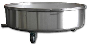 Stainless tub