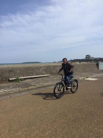 何故かRYKちゃんの写真が無く、RYKちゃんのビーチクに乗っている私の写真でごめんなさい(^-^;