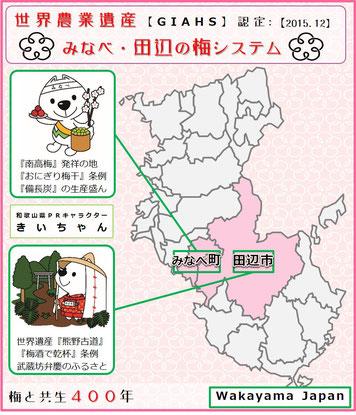 みなべ・田辺の梅システム 紹介pop 和×夢 nagomu farm