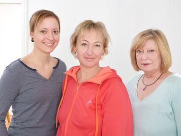 Mareike Wedtke, Ute Wollens-Peters und Annegret Flöther