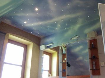 Badezimmer mit Himmel