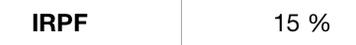 El IRPF en una celda de Excel
