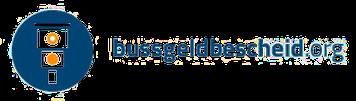 Bussgeldbescheid org Logo
