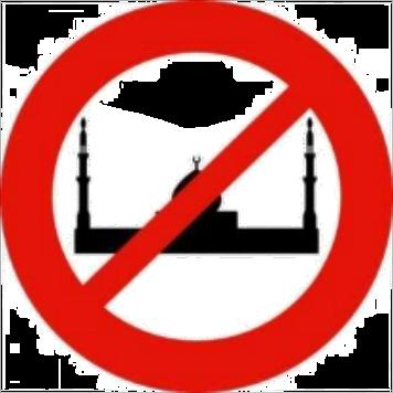 Moscheebau Gegner Islamgegner Islamophobie Moslemgegner