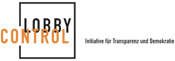 Lobbycontrol lobby control Initiative für Transparenz und Demokratie Logo
