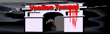 Voodoo Religion Spiritualität Spiritismus Tempel Logo