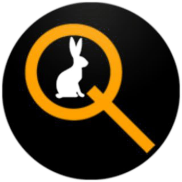 Qlobal Change Logo Hase Lupe Messenger WhatsApp Telegram