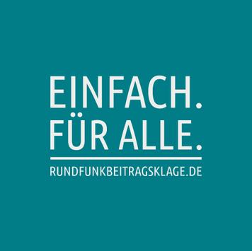 Rundfunkbeitragsklage Logo