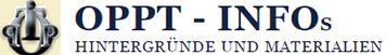 OPPT Infos Universeller Werteaustausch Hintergründe Materialien Logo