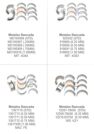 metales motor partes refacciones montacargas mexico
