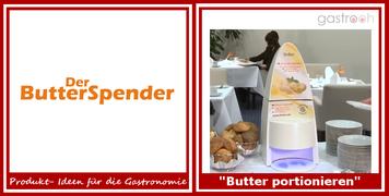 Butter einfach portionieren