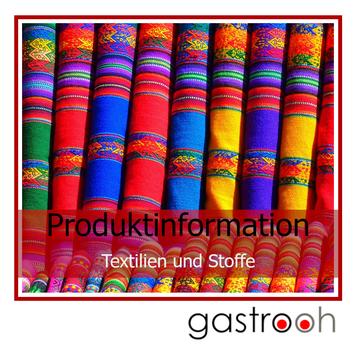 Infos Textilien und Stoffe