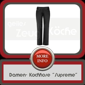 moderne Damen Kochhose