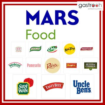 Welche Marken gehören zu Mars