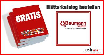 Katalog bestellen Baumann Creative