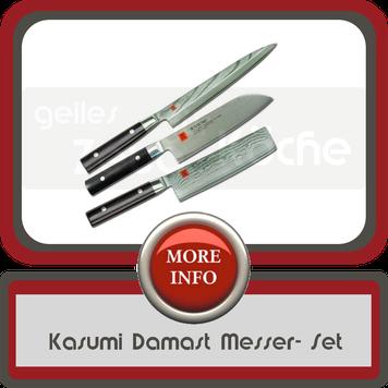 Kasumi Damast Messer Set