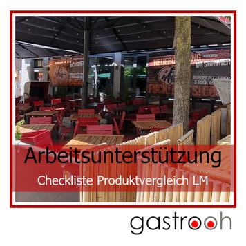 Checkliste Produktvergleich