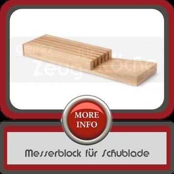 Messerblock Schublade