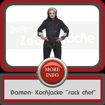 coole Damen Kochjacke