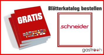 Katalog bestellen Schneider Werbeartikel