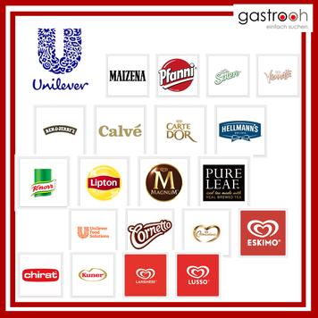 Welche Marken gehören zu Unilever