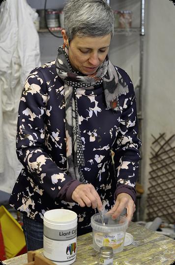 Emmanuelle Galiana - Patine et meuble peint à Grenoble
