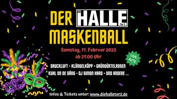 Halloween Party Logo 2019 Halle Tor 2